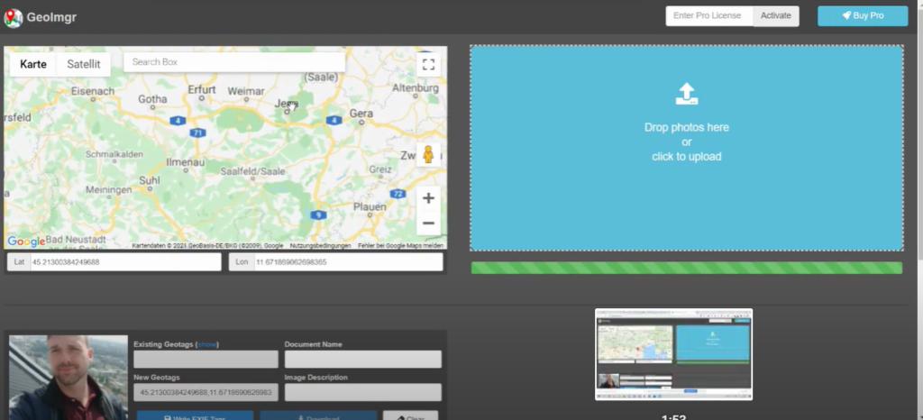 Exif Geodaten für lokale Suchmaschinenoptimierung nutzen