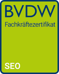 SEO Zertifikat BVDW